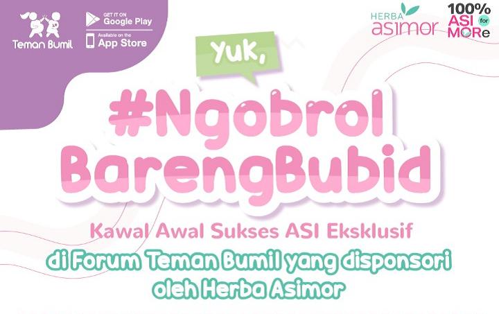 Produk Terkait Yuk, #NgobrolBarengBubid bersama Bidan Ony Christy Asimor ASI Booster Pelancar ASI